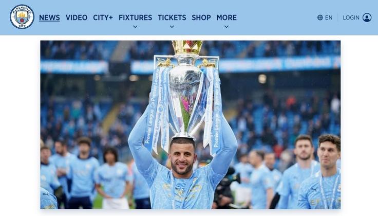 Man City Win League
